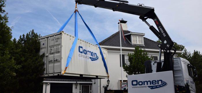 Zelf Verhuizen! Nu super gemakkelijk met de nieuwe doe-het-zelf Verhuiscontainer service van Oomen Verhuizers en extra voordelig met het GRATIS Bol van Voordeel Verhuispakket.