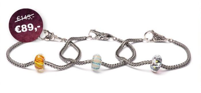 Inspiratie nodig voor een leuk en persoonlijk cadeau voor de SINT? Maak dan gebruik van de TROLLBEADS aanbieding van Juwelier van Dijck. Een TROLLBEADS startersarmband niet voor € 145,- maar voor slechts € 89,-; dus bijna 40% korting!